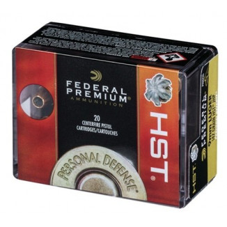 Federal Premium Personal Defense HST Handgun Ammunition 9mm Luger 147gr HST JHP 20/ct