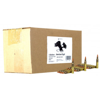 Federal M856 Tracer Rifle Ammunition 5.56mm 64 gr Tracer 1000 rds