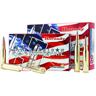Hornady American Whitetail Rifle Ammunition .308 Win 165 gr SP