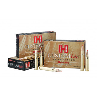 Hornady Custom Lite Rifle Ammunition .275 Rigby 140 gr InterLock SP 20/Box