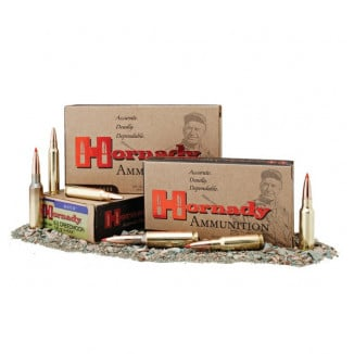 Hornady Match Rifle Ammunition .338 LAPUA MAG 285 gr ELD-M 20/ct