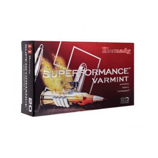 Hornady Superformance Rifle Ammunition .243 Win 58 gr V-MAX 3425 fps - 20/box