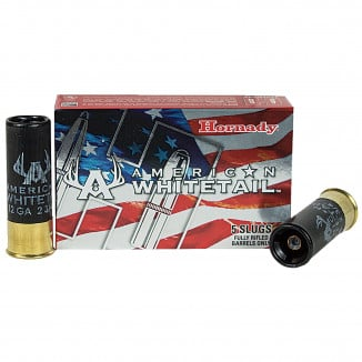 Hornady  American Whitetail Shotshell Slug 12 ga 325 gr Interlock 5/Box