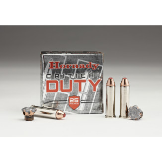 Hornady Critical Duty Handgun Ammo .357 Mag 135 gr Flex Tip 1275 fps 20/box