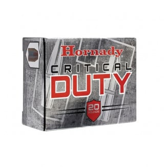 Hornady Critical Duty Handgun Ammunition 10mm Auto 175 gr Flexlock 1160 fps 20/ct