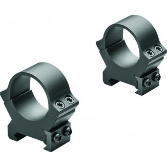 Leupold 2-Piece Precision-Fit PRW2 Weaver-Style Permanent Rings 30mm High - Matte Black