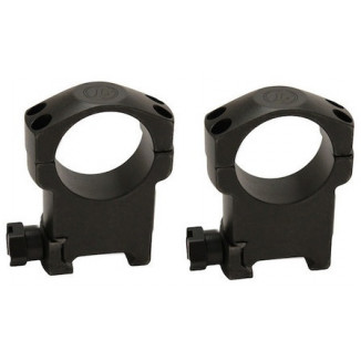 "DEMO Leupold 2-Piece Mark 4 Steel Scope Rings 1"" Super High, Matte"