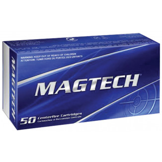 MagTech Handgun Ammunition 9mm Luger 115 gr FMJ 1135 fps 50/box
