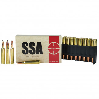 Silver State Armory Rifle Ammunition 5.56mm 63 gr SP 20ct