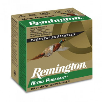 Remington Nitro Pheasant Copper-plated Shotshells 20ga 3 in 1-1/4 oz Max dr 1185 fps #6 25/ct
