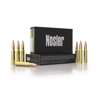 Nosler E-Tip rifle Ammunition .22 Nosler 55gr ETIP 3300 fps 20/ct