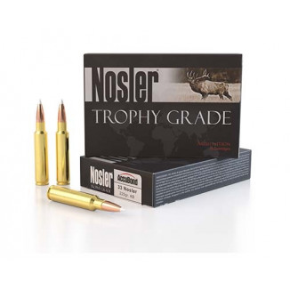 Nosler Trophy Grade Rifle Ammunition .33 Nosler 225 gr  AB 3025 fps 20/ct