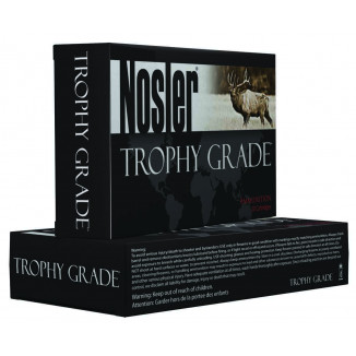 Nosler Trophy Grade Long Range Rifle Ammunition 28 Nosler 175gr ABLR 20/Box