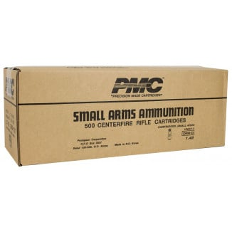 PMC Bronze Rifle Ammunition .308 Win 147 gr FMJBT 2780 fps - 500/ct