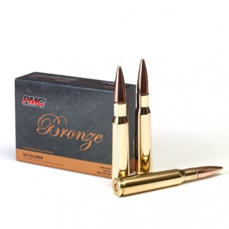 PMC Bronze Rifle Ammunition .50 BMG 660 gr FMJBT  - 10/box