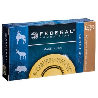 Federal Copper Power-Shok Rifle Ammunition .300 WSM 180 gr CHP 20/ct