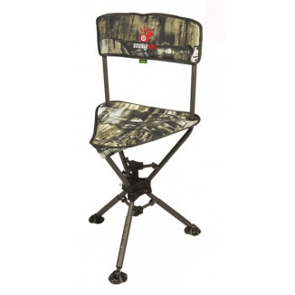 Primos Double Bull Ground Blind 360-Swivel Hunting Chair - Truth Camo