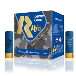 "Rio Top Game HV 12 ga 2 3/4"" 3 3/4 dr 1 1/4 oz #8 1330 fps - 25/box"