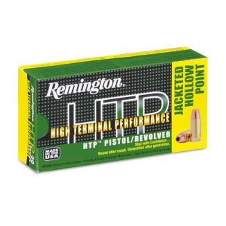 Remington HTP Handgun Ammunition .380 ACP  JHP  50/box