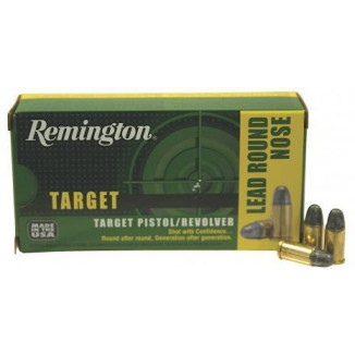 Remington Target Handgun Ammunition .38 Spl  158 gr LRN  50/box