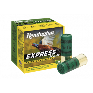 "Remington Express Extra Long Range Shotgun Ammo 16 ga 2 3/4"" 3 1/4 dr 1 1/8 oz #7.5 1295 fps - 25/box"