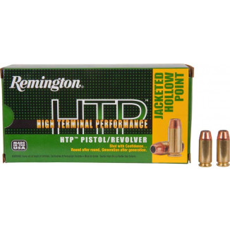 Remington HTP Handgun Ammunition .40 S&W 155 gr JHP  50/box