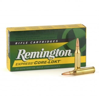 Remington Core-Lokt Rifle Ammunition .280 Rem 165 gr PSP 2820 fps - 20/box