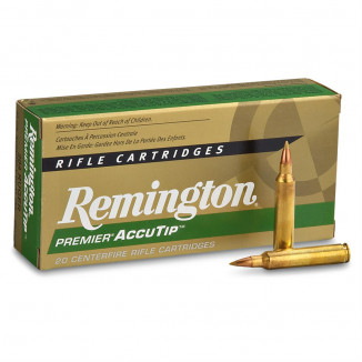 Remington Premier AccuTip Rifle Ammunition 7mm 08 Rem 140 gr AT-BT 2725 fps - 20/box