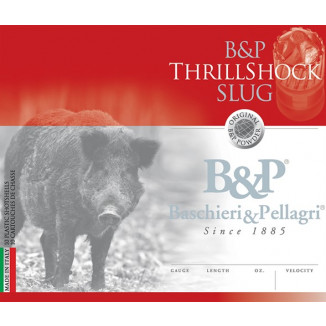 B&P ThrillShock Slug Shotshells- 20 ga 2-3/4 In 7/8 oz 1500 fps 10 /ct