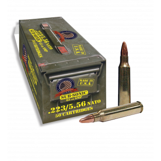 Thermold Founding Fathers Rifle Ammunintion 5.56mm 63 gr SMP 1000 fps 50