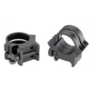 "Weaver Quad Lock Detachable Scope Rings 1"" X-High, Matte"