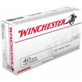 Winchester USA Handgun Ammunition .45 ACP 230 gr FMJ  50/box