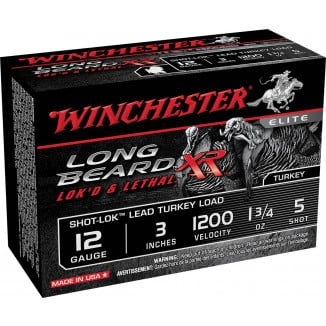 "Winchester Long Beard XR Shotshells 3"" 1-3/4 oz #5 10/Box"