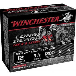 "Winchester Long Beard XR Shotshells 3-1/2"" 2 oz #4 10/Box"