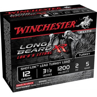 "Winchester Long Beard XR Shotshells 3-1/2"" 2 oz #5 10/Box"
