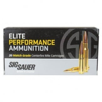 Sig Sauer Elite Match Rifle Ammunition .223 Rem 77gr OTM 20/ct