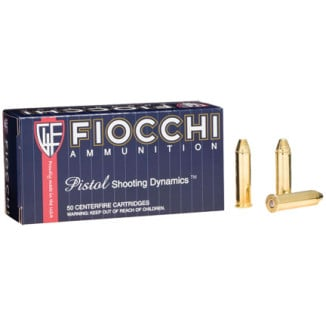 Fiocchi Pistol Shooting Dynamics Handgun Ammunition .357 Mag 142 gr FMJ 1420 fps 50/box