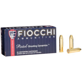 Fiocchi Pistol Shooting Dynamics Handgun Ammunition .357 Mag 142 gr FMJ-TC 50/Box