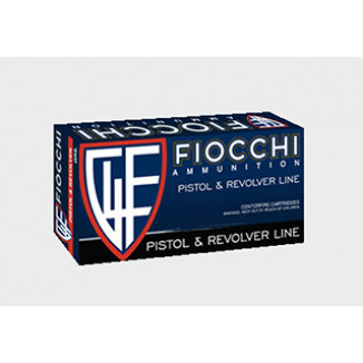 Fiocchi Pistol Shooting Dynamics Handgun Ammunition .38 Spl 158 gr LRN 880 fps 50/box