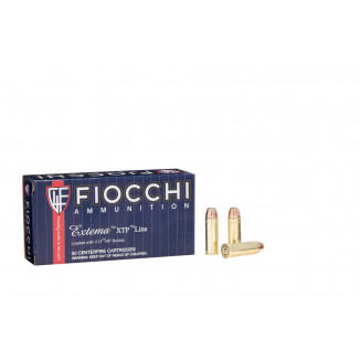 Fiocchi Pistol Shooting Dynamics Handgun Ammunition .44 Mag 200 gr SJHP 1475 fps 50/box