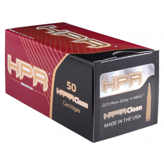 HPR Rifle Remanufactured Brass Ammunition .223 Rem 60 gr SP 3013 fps 50/ct
