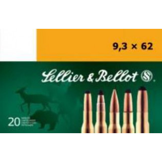 Sellier & Bellot Rifle Ammunition 8x57 JR 196 gr 2330 fps - 20/box