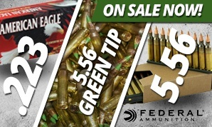Federal .223 & 5.56 On Sale