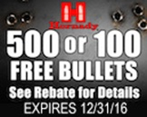 Hornady Get Loaded! Rebate