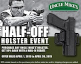 Uncle Mike's Half Off Holster Event