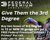 Federal 3rd Degree Promotion