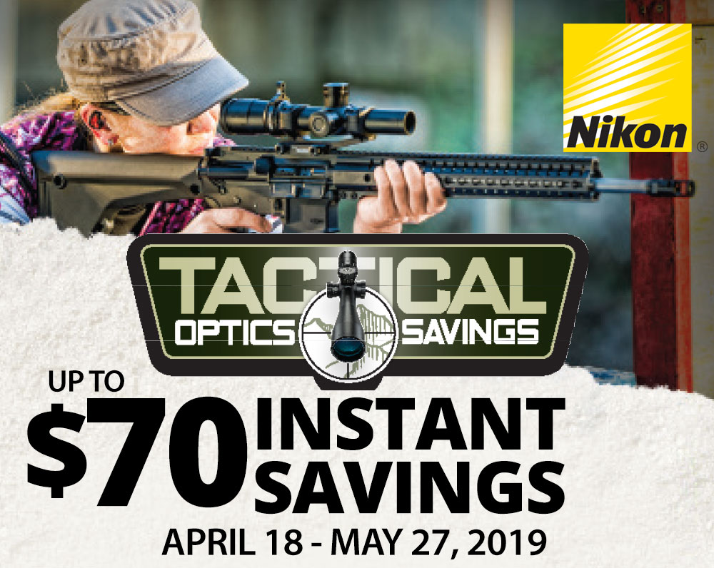 Nikon Tactical Optics Savings