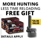American Eagle More Hunting, Less Time Reloading