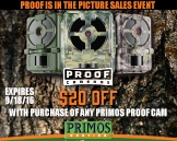 Primos Proof is in the Picture Instant Savings!