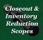 Closeout & Inventory Reduction Scopes